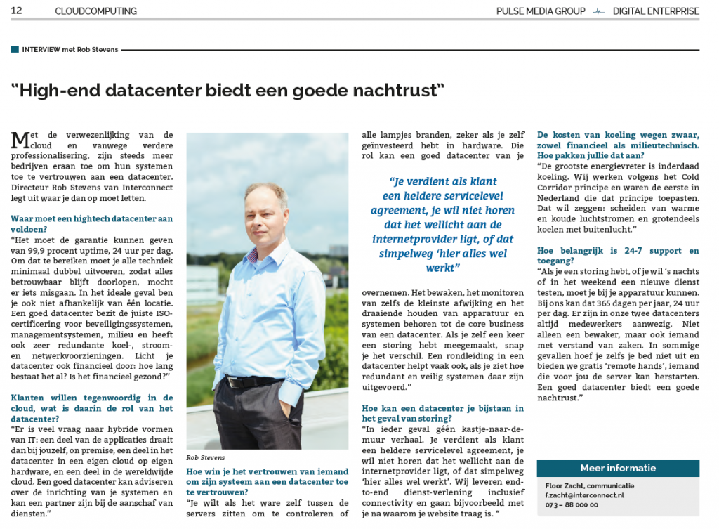 Elsevier Digital Enterprise artikel interconnect