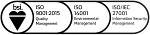 ISO 9001, 27001 & 14001